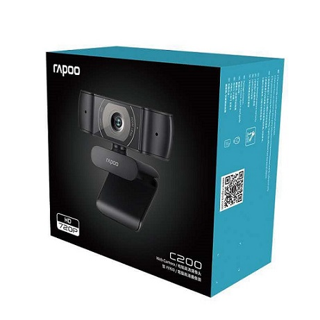 Original-Rapoo-C200-Webcam-720P-HD-With-USB2-0-With-Microphone-Rotatable-Cameras-For-Live-Broadcast